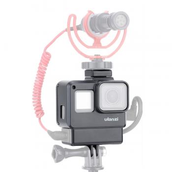 Рамка Ulanzi 1280 V2 з відсіком для адаптера мікрофона GoPro Hero5/6/7