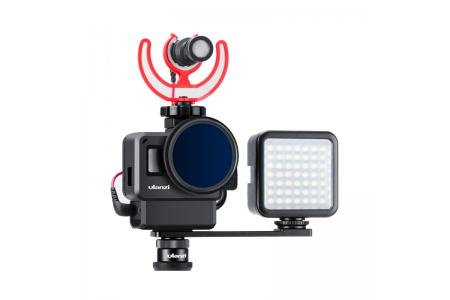 Як підключити мікрофон до камер GoPro Hero5/6/7 або Hero8 Black