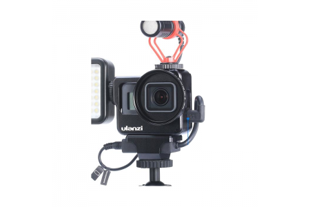 Как подключить микрофон к камерам GoPro Hero5/6/7 или Hero8 Black?