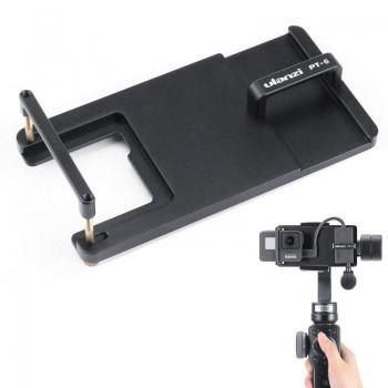 Перехідник Ulanzi PT-6 для GoPro c адаптером мікрофона для стабілізатора