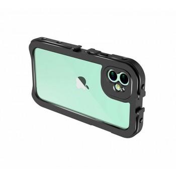 Алюмінієва рамка Ulanzi для зйомки відео на iPhone 11 (iPhone 11 Video Cage 1684)