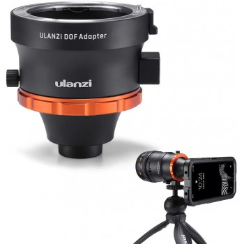 Адаптер для кріплення об'єктива камери на телефон Ulanzi DOF