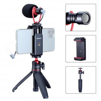 Набір блогера для смартфона Ulanzi Vlogging Super Extension Tripod Handle Outfit (Combo 2)