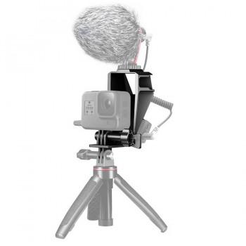 Селфі дзеркало з кріпленням адаптеру мікрофона для GoPro Ulanzi GP-5