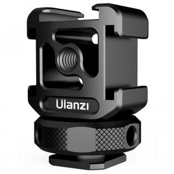 Тройной адаптер холодный башмак Ulanzi PT-12