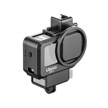 Влог рамка GoPro 10 / 9 фільтр 52мм холодний башмак ковпачок Ulanzi G9-4