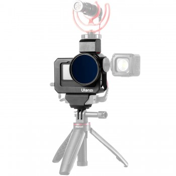 Влоги рамка GoPro 10 / 9 алюміній фільтр холодний башмак Ulanzi G9-5