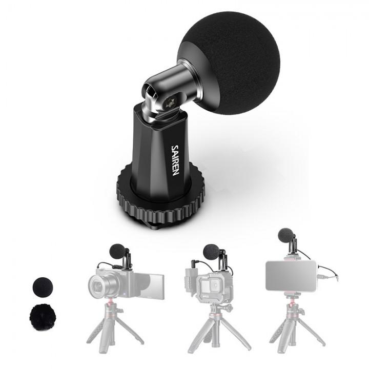Микрофон суперкардиоидный мини SAIREN Decent Mic I