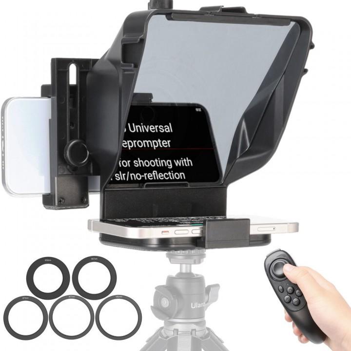 Телесуфлер для телефона камеры с пультом Ulanzi PT-15