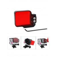 Фильтр-рамка подводный для камер GoPro Hero 3 3+ 4