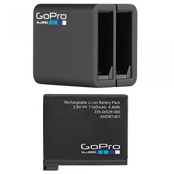 Аккумулятор + зарядка оригинальные для GoPro Hero4 Black/Silver (AHBBP-401)