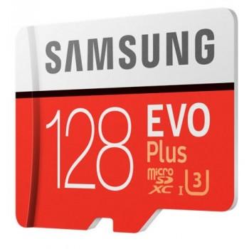 Карта пам'яті SAMSUNG MICROSDXC 128GB Evo Plus