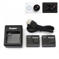 Аккумуляторы + зарядка Kingma для экшн-камер Xiaomi YI Sport