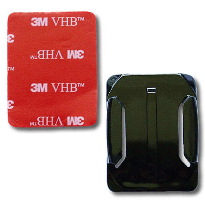 Адаптер на клею изогнутый для GOPRO SJCAM XIAOMI