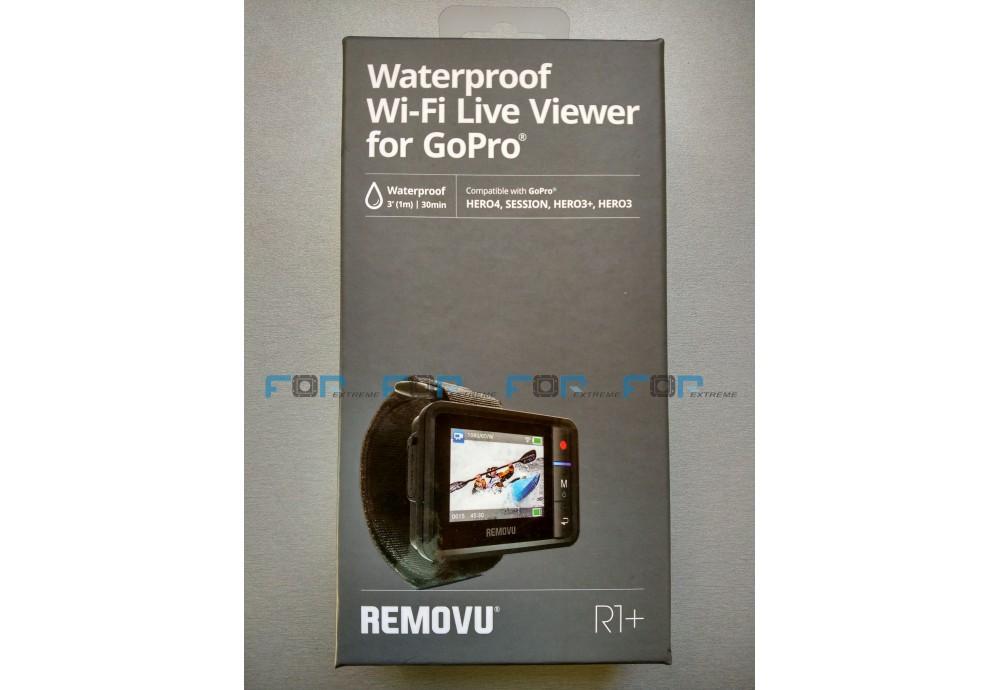 Пульт REMOVU R1 + тепер працює і з GOPRO HERO 5 Black