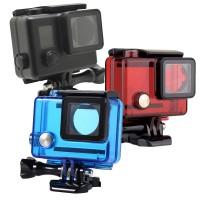 Подводный бокс цветной для GoPro 3 3+ 4