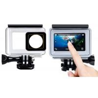 Підводний бокс Touch-screen для XIAOMI YI 4K / YI 4K Plus / YI Lite / YI Discovery