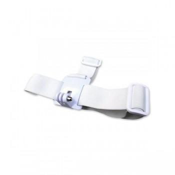 Крепление на голову для экшн-камеры (белый цвет)