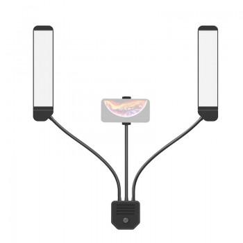 Подвійний Led світильник для фото та відеозйомки RK39
