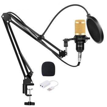 Мікрофон студійний конденсаторний ZEEPIN BM 800 з підставкою