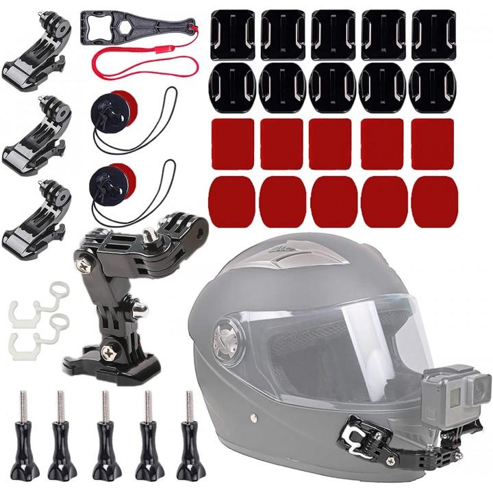 Кріплення на шолом мотоцикл для екшн-камери ACprof MH-K01