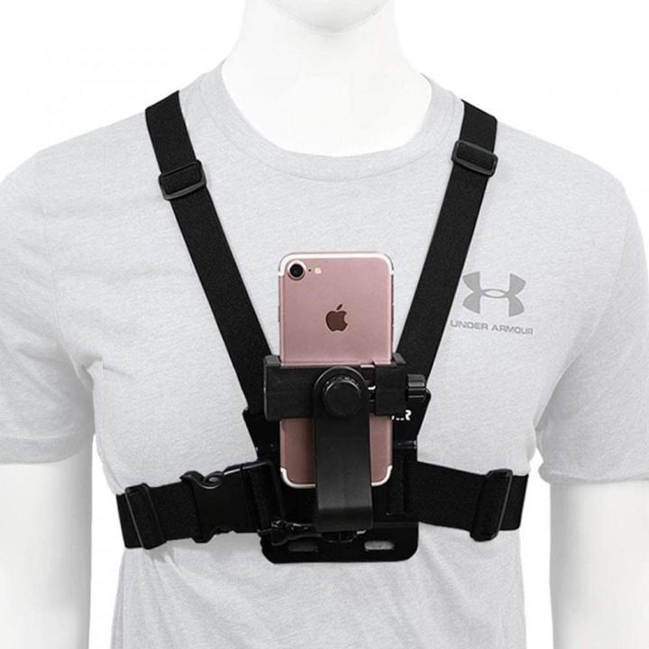 Крепление для телефона на грудь вертикальное ACprof
