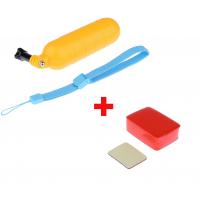 Ручка-поплавок + поплавок для GoPro SJCAM XIAOMI  Акционный комплект!