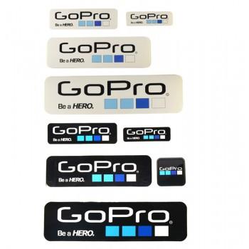 Наклейки для GoPro, 9шт.
