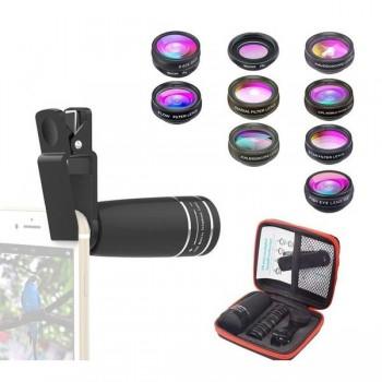Об'єктиви для телефону набір Apexel APL-10XDG9