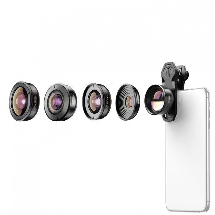 Набор объективов для телефона 5в1 Apexel APL-HB5