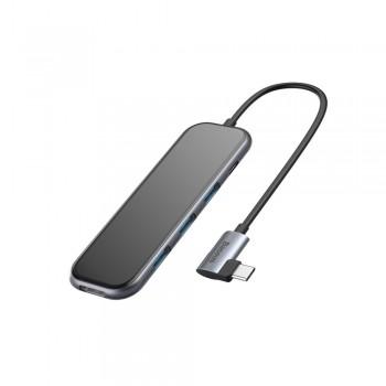 USB концентратор Type-C Hub Baseus CAHUB-BZ0G