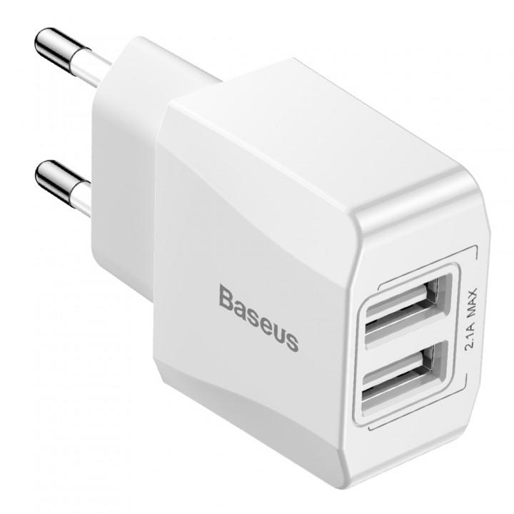 Зарядка Baseus Mini Dual-U для телефону (CCALL-MN02)