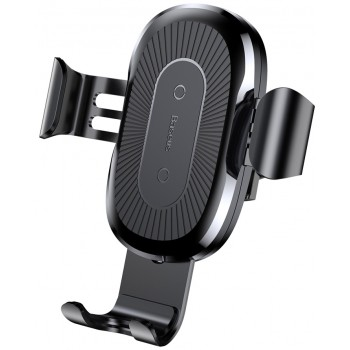 Держатель телефона в авто с беспроводной зарядкой Baseus WXYL-01