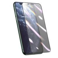 Пленка-стекло конфиденциальная защитная для экрана iPhone 11 Pro Max / iPhone XS Max 3D 0.25мм Baseus SGAPIPH65S-HA01