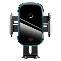 Держатель для телефона в авто универсальный с беспроводной зарядкой Qi 15Вт Baseus WXHW03-01