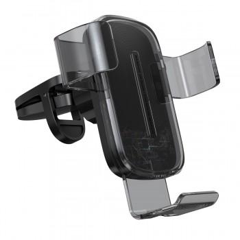 Держатель гравитационный для телефона в авто с беспроводной зарядкой Baseus WXYL-K01