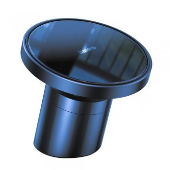Тримач для айфон 12 в авто магнітний MagSafe блакитний Baseus SULD-03