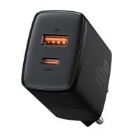 Зарядка двойная USB Type-C 20Вт 3А Baseus CCXJ-B01