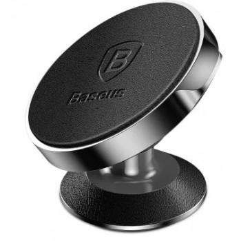 Держатель для телефона магнитный BASEUS Vertical Magnetic Bracket Leather Black SUER-F01