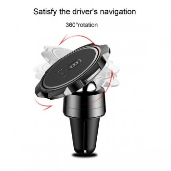 Держатель для телефона магнитный BASEUS Gyro Magnet Air Vent Car Mount Black
