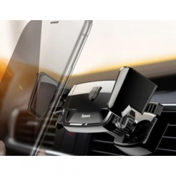 Держатель для телефона в авто BASEUS Robot Air Vent Car Mount Black