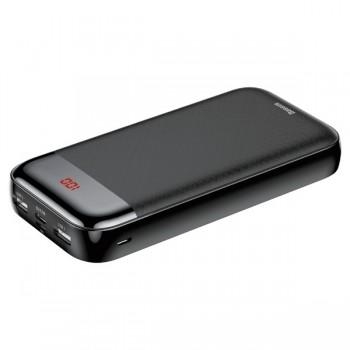 Зарядний пристрій Power Bank Baseus Mini Cu Digital Display 20000mAh (PPALL-CKU01)