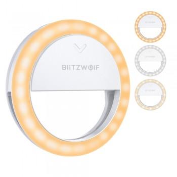 Селфи лампа клипса на телефон BlitzWolf BW-SL0 Pro