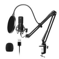 Микрофон студийный конденсаторный подставка поп-фильтр BlitzWolf BW-CM2