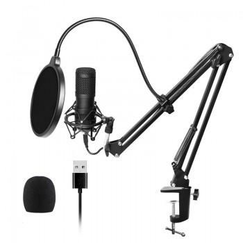Мікрофон студійний конденсаторний підставка поп-фільтр BlitzWolf BW-CM2