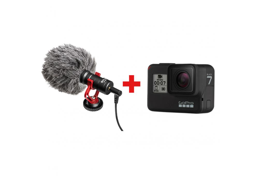 Альтернативний спосіб підключити мікрофон до GoPro Hero7 Black