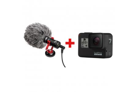 Альтернативный способ подключить микрофон к GoPro Hero7 Black