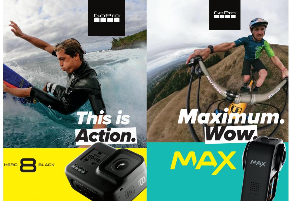 GoPro Hero 8 і GoPro Max - оновлення модельного ряду