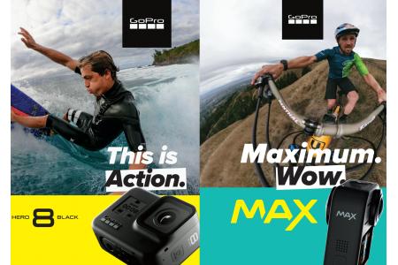 GoPro Hero 8 и GoPro Max - обновление модельного ряда