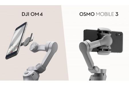 DJI OM 4 или DJI Osmo Mobile 3: что нового?